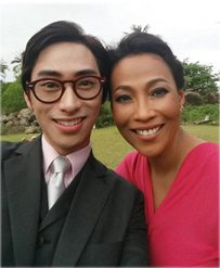 with the Philippines' Queen of Soul, Jaya