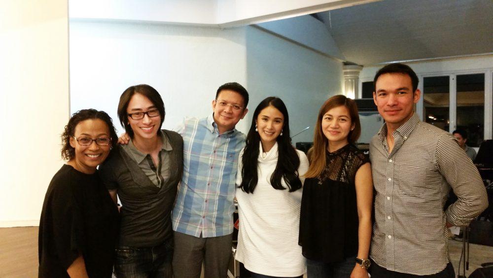 Max Tiu with Jaya, Senator Chiz Escudero, Heart Evangelista, Kyla, Mark Bautista