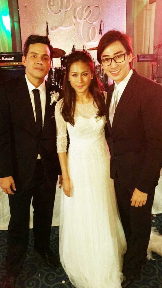Max Tiu with Toni Gonzaga and Direk Paul Soriano