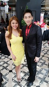 with Gretchen Fullido of ABS-CBN