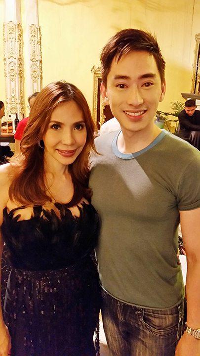 with Ms. Saigon Alumna, Jenine Desiderio