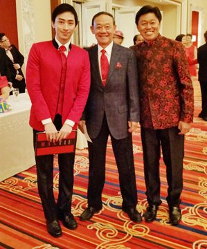 with the country's premiere balladeer, Jose Mari Chan & Birthday Celebrator Jimmy Li